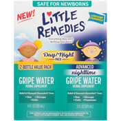 Little Remedies Little Remedies Day/Night Pack Gripe Water Herbal Supplement - 2 CT