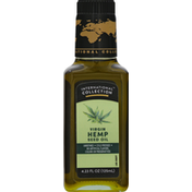 International Collection Hemp Seed Oil, Virgin, Unrefined, Cold Pressed