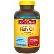 Nature Made Burpless Fish Oil 1200 mg Softgels
