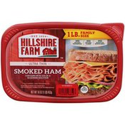 Hillshire Farm Ultra Thin Sliced Lunchmeat, Smoked Ham, 16 oz.