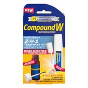 CompoundW Wart Removal System 2-In-1 Treatment Kit