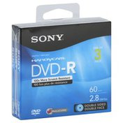 Sony DVD-R, 60 Min, 2.8 GB