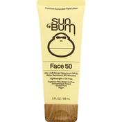 Sun Bum Sunscreen Face Lotion, Broad Spectrum SPF 50