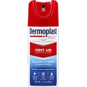 Dermoplast Antibacterial Spray, First Aid, Hospital Strength