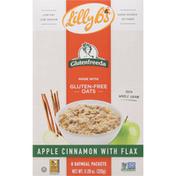 Glutenfreeda Oatmeal, Gluten-Free, Apple Cinnamon with Flax