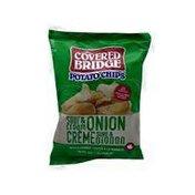 Covered Bridge Sour Cream & Onion Potato Chips