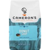 Camerons Coffee, Whole Bean, Medium Roast, Donut Shop