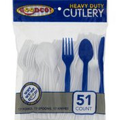 GoodCo! Goodco Cutlery, Heavy Duty, Bag