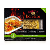 Rougette Bonfire Marinated Grilling Cheese with Herbs