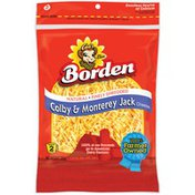 Borden Finely Shredded Cheese, Colby & Monterey Jack