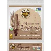 La Tortilla Factory Organic White Corn Tortillas