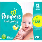 Pampers Size 1 Diapers