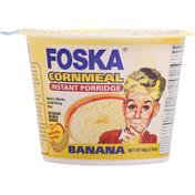 Foska Oats Instant Porridge, Cornmeal, Banana