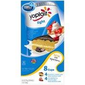 Yoplait Light Boston Cream Pie/Strawberry Shortcake Variety Pack Fat Free Yogurt