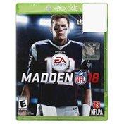 Madden Game, Madden NFL 18, Xbox One