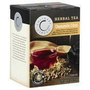 Culinary Circle Herbal Tea, Chamomile Citrus, Pyramid Bags