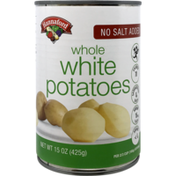 Hannaford No Salt Added Whole White Potatoes