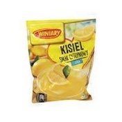 Winiary Kisiel Cytry Lemon Flavored Soft Jelly With Sugar