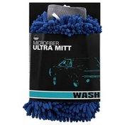Zwipes Auto Ultra Mitt, Microfiber, Wash