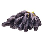 Organic Black Lady Finger Grapes
