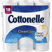 Cottonelle Clean Care Large Rolls Toilet Paper