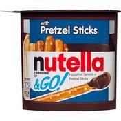 Nutella & Go! Hazelnut Spread + Pretzel Sticks