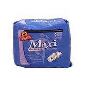 ShopRite Ultra-Thin Long With Wings Heavy-Flow Maxi Pads
