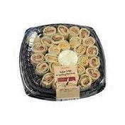Italian Style Turkey Pinwheel Tray