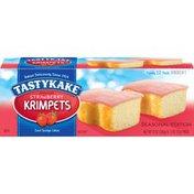 Tastykake Strawberry Krimpets
