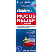 CareOne Children's Mucus Relief Cough Cherry