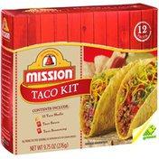 Mission Shells W/Sauce & Seasoning Taco Kit