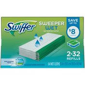 Swiffer Wet Mopping Cloth Multi Surface Refills, Open Window Fresh Scent
