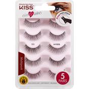 Kiss Lashes, 03, Ever EZ Lashes