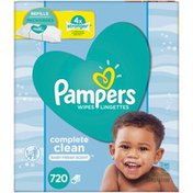 Pampers Baby Wipes Scented