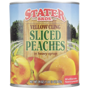 Stater Bros. Markets Yellow Cling Sliced Peaches In Heavy Syrup