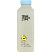 BluePrint Cold Pressed Juice Beverage, Lemon Cayenne Agave