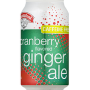 Hannaford Ginger Ale, Cranberry, Can