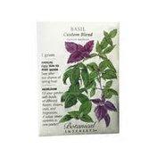 Botanical Interests Basil Custom Blend