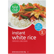 Food Club Enriched Long Grain Instant White Rice
