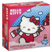 Hello Kitty Puzzle, Lenticular, 100 Piece