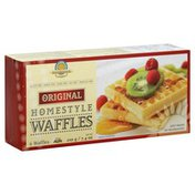 Kinnikinnick Foods Waffles, Homestyle, Original
