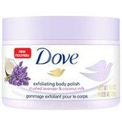 Dove Body Scrub Crushed Lavender & Coconut Milk