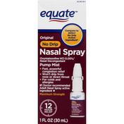 Equate Nasal Spray, Maximum Strength, Original