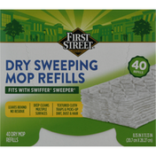First Street Mop Refills, Dry Sweeping