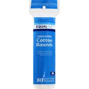 Equaline Cotton Rounds, Exfoliating