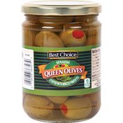 Best Choice Spanish Queen Olives Stuffed With Minced Pimentos