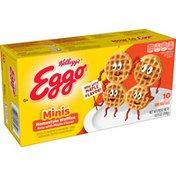 Kellogg's Eggo Mini Frozen Waffles, Frozen Breakfast, Homestyle with Maple Flavor