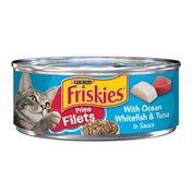 Friskies Ocean Whitefish & Tuna Wet Cat Food