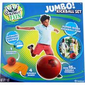 Hedstrom Kickball Set, Jumbo