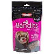 Marshall Bandits Freeze Dried Rabbit Treat for Ferrets
